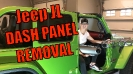 Mojito Jeep JL with Red Rubicon Dash Panels