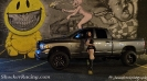 Harley Danielle with Jamie Derush's Dodge Ram_4