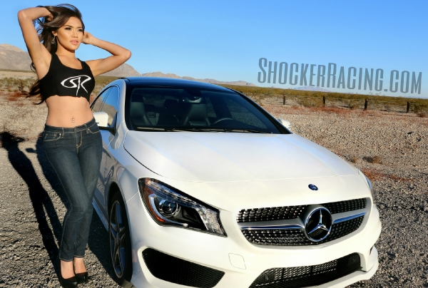 Christy Rios returns as a ShockerRacingGirl with her Mercedes Benz CLA250