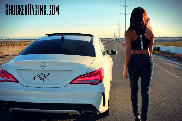 Christy Rios returns to ShockerRacingGirls with her Mercedes Benz CLA250