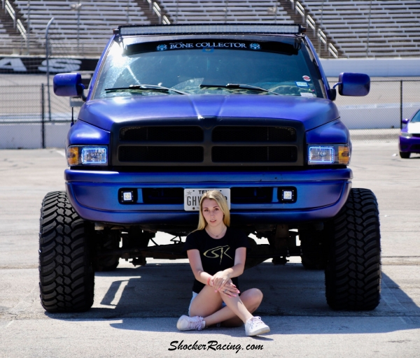 Angie Moltzan for ShockerRacing Girls