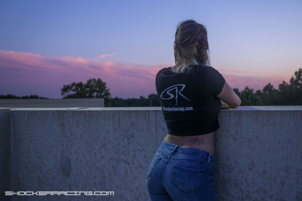 Alyson Marie joins the ShockerRacing Girls