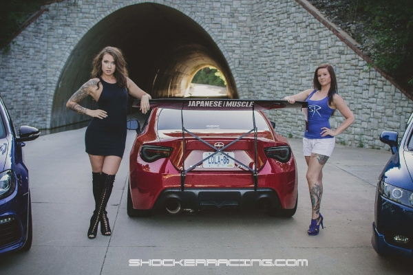 Twyla & Sydney for ShockerRacing Girls