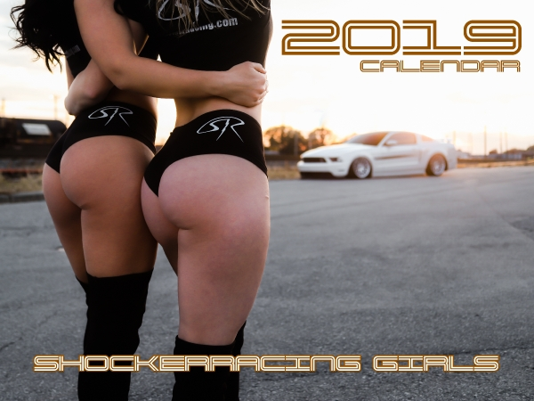 2019 ShockerRacing Girls Calendar