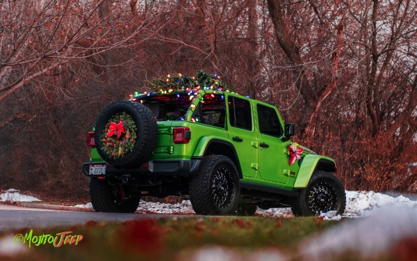 Mojito Grinch Steals Christmas - Jeep JL
