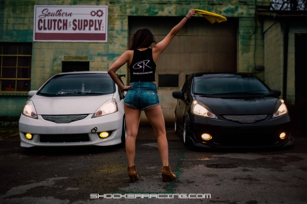 Court Lynn for ShockerRacing Girls with her Honda Fit