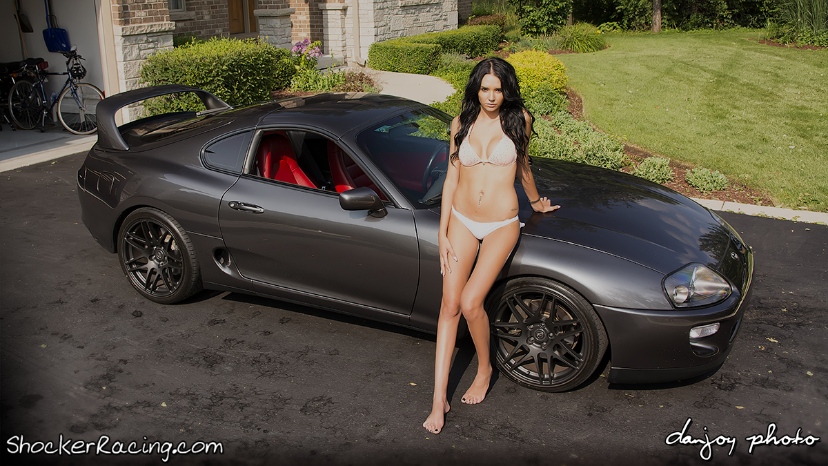1998 Toyota Supra Turbo Featuring Angela Angelovska for ShockerRacingGirls